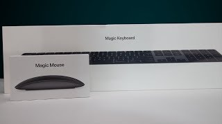Apple Magic Mouse 2 + Keyboard (Space Grey) Unboxing!!