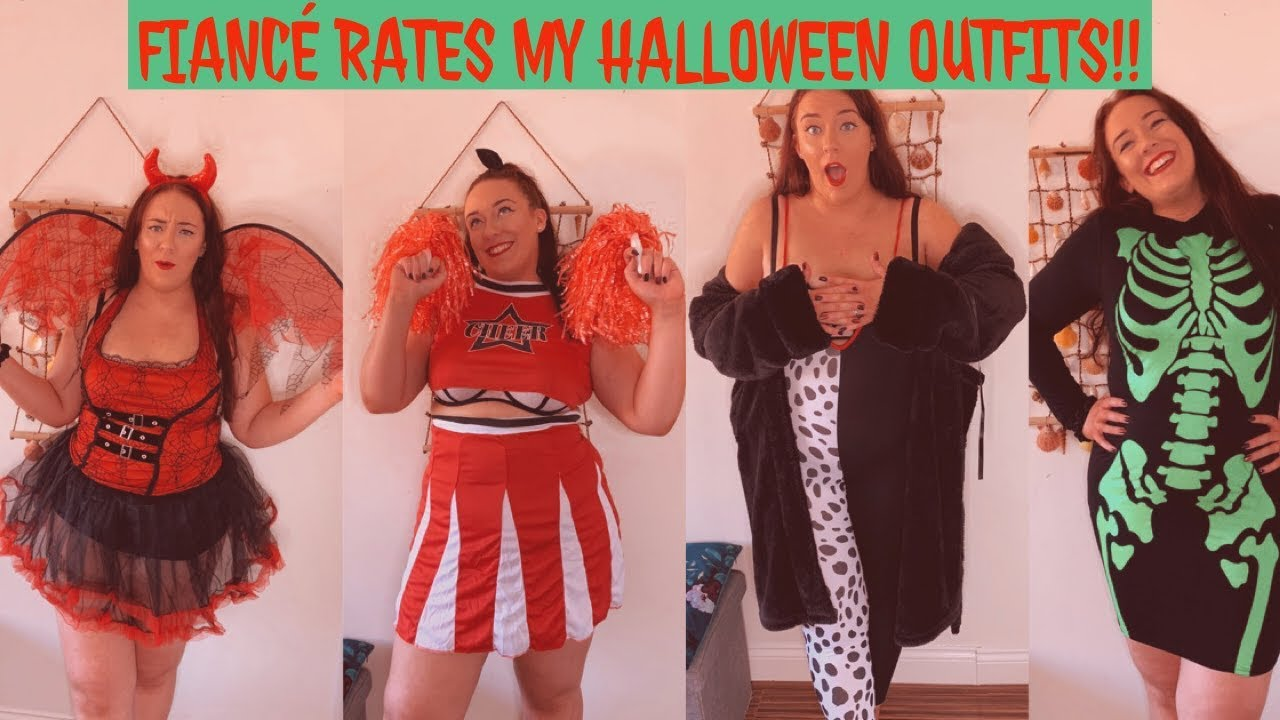 [VIDEO] - FIANCÉ RATES MY PRETTY LITTLE THING HALLOWEEN OUTFITS 8