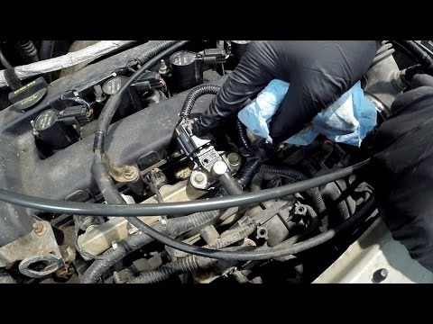 Ford Vehicles: Fuel Rail Pressure Sensor Replacement P0191