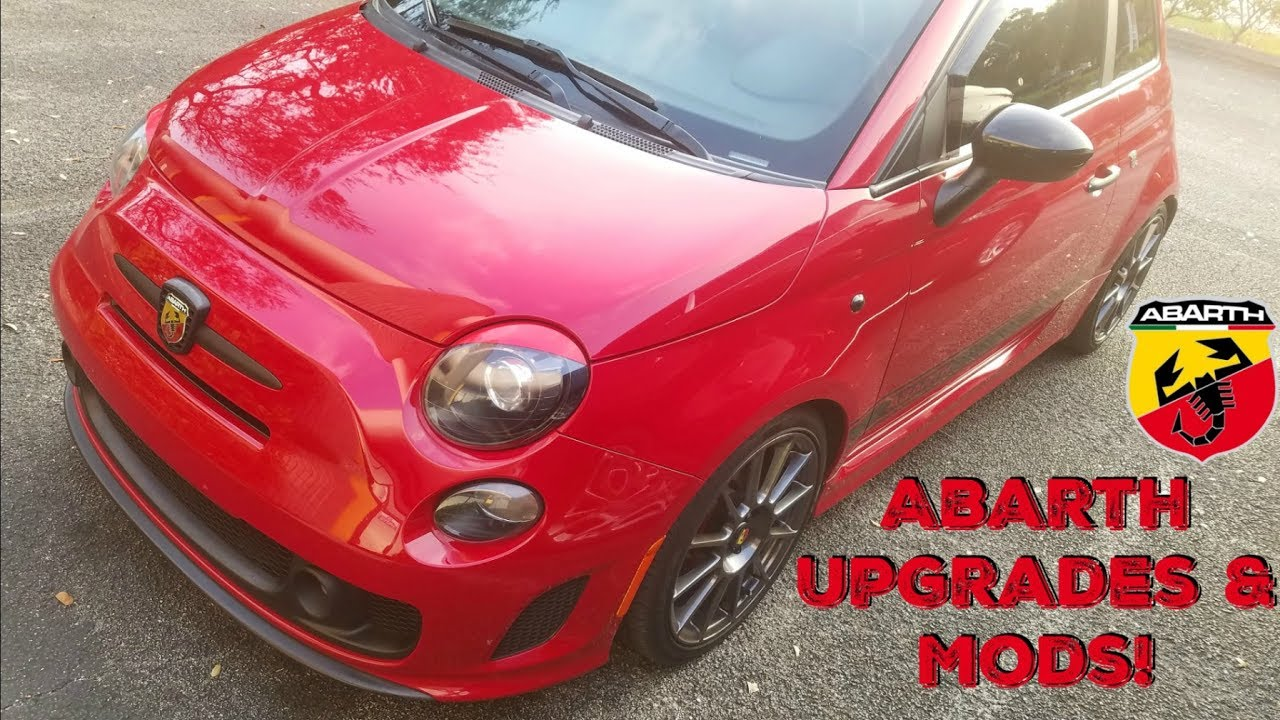 Fiat 500 Abarth Upgrades & Mods (UPDATED 2017) - YouTube