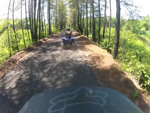 ATV Trail In Fremont NH