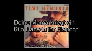 Timi Hendrix - 1 Millionen Messer (Lyrics)