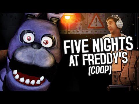 OS PIORES SEGURANÇAS - FIVE NIGHTS AT FREDDYS MULTIPLAYER!