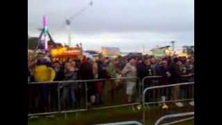 Download Festival 2013 -  legendary security man (grizzly) singing Kate Bush