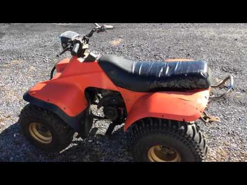 SUZUKI 4- Wheeler ATV (model LT185) FOR SALE