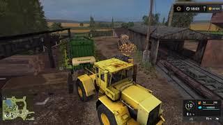 Зеленая долина производство поддонов, компоста, и вишни -  Farming Simulator 2017