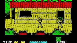 Platoon Walkthrough, ZX Spectrum