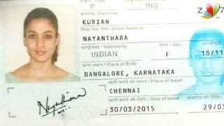 Police action on Nayanthara passport leaked on Whatsapp spl Hot Tamil Cinema video News latest update