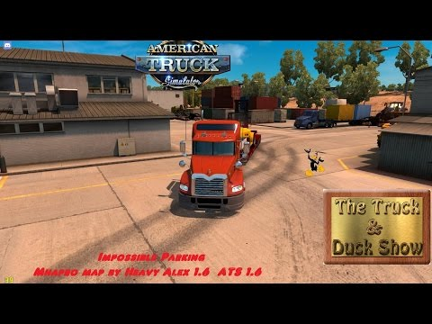 American Truck Simulator #379 Impossible Parking on MHApro Map 1 6