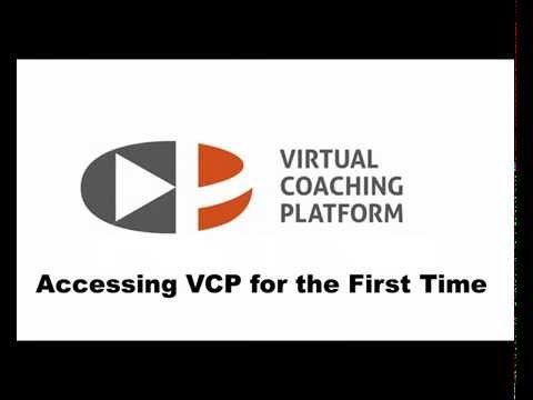 VCP Tutorial: Accessing VCP for the first time