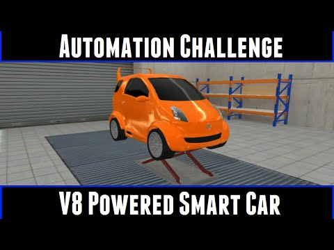 Automation Challenge V8 Powered Smart Car