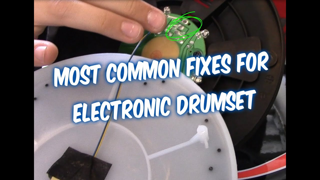maxresdefault how to fix electronic drums set drum pad triggers and pedal on alesis dm6 wiring diagram at eliteediting.co