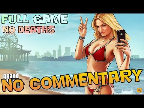 GTA V - Full Game Walkthrough 【Ultra Settings - 100% Gold Medals】