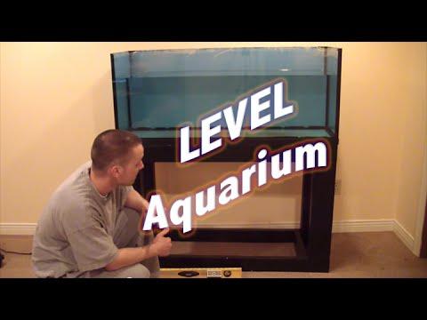 HOW TO: Level An Aquarium