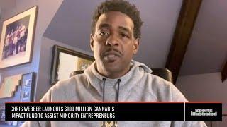 Chris Webber Talks Cannabis Industry, NBA Career And More