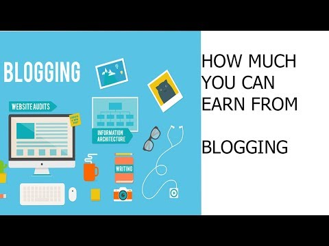 What is blogging how much you can earn in Tamil video.