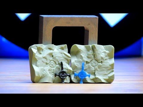 Из чего сделать форму для литья золота