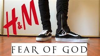 H&M Fear of God Style Zipper Pants & Crewneck Review!