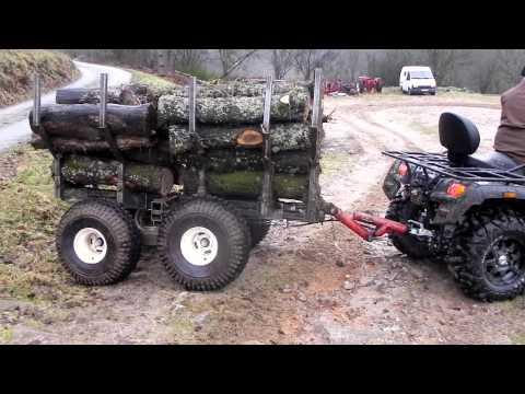 remorque quad forestiere