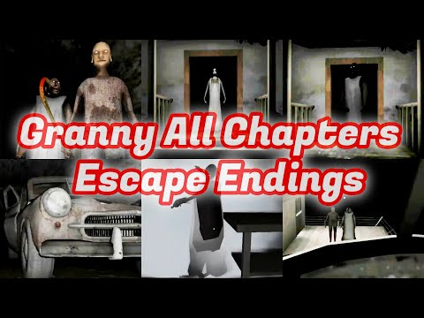 Granny All Chapters Escape Endings PC Version