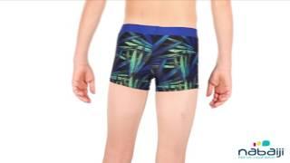 3b0c42bdd Sunga de natação Boxer B-Active Plus infantil Nabaiji - Exclusividade  Decathlon
