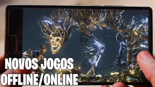 Saiu Novos Jogos Offlineonline Para Androidios
