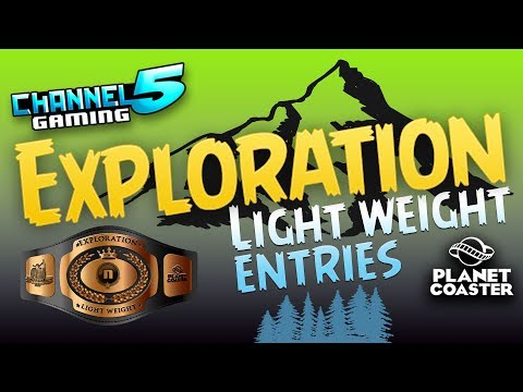 16 Exploration Coasters! Light Weight Contest Entries! #PlanetCoaster