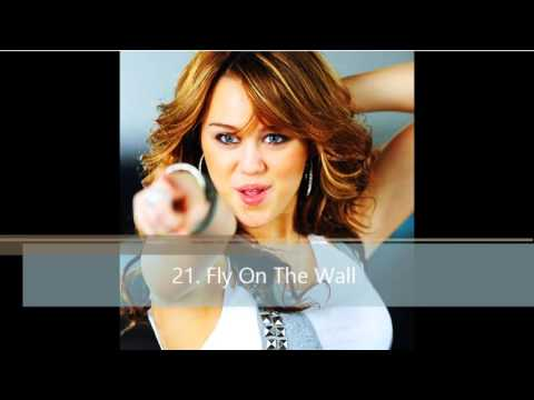 My top 50 Miley Cyrus Songs [2014]