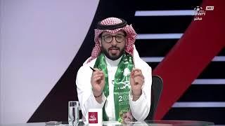 مداخلة اللاعب الدولي السابق صالح النعيمة في التغطية الخاصة من دوري بلس بمناسبة اليوم الوطني