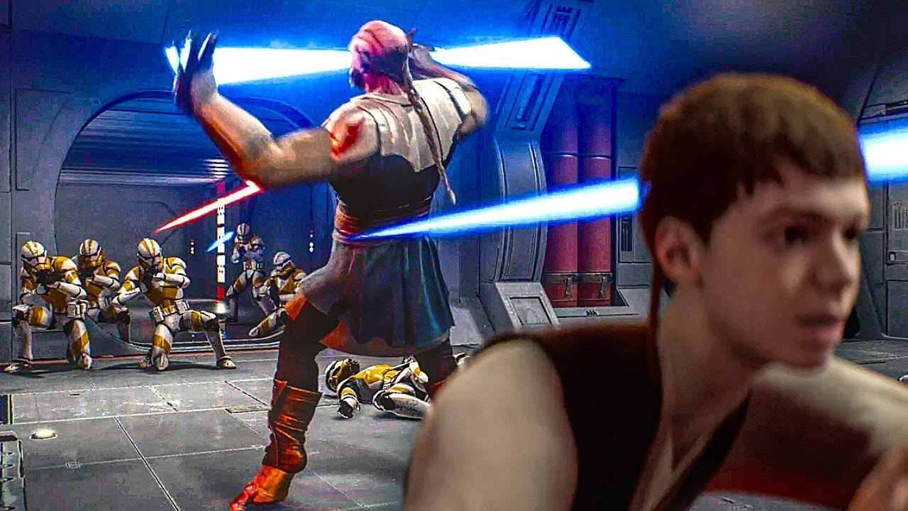 Executar Ordem 66 CENA COMPLETA - Star Wars Jedi Fallen Order (Star Wars 2019) HD + vídeo