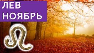 ЛЕВ НОЯБРЬ гороскоп на ноябрь 2018 / Астропрогноз Павел Чудинов