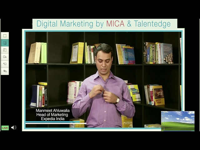 Enroll for Digital Marketing program by MICA   Talentedge. - YouTube