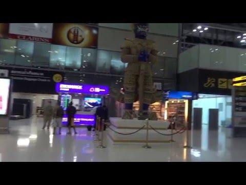 มือใหม่วิธีขึ้นเครื่องบินไปนอก ที่สนามบินสุวรรณภูมิ suvannabhumi airport Thailand