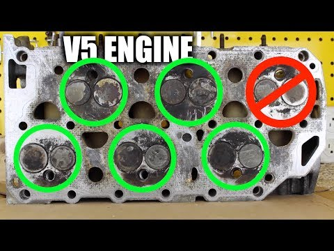 Volkswagen's V5 Engine — When A VR6 Is Too Big
