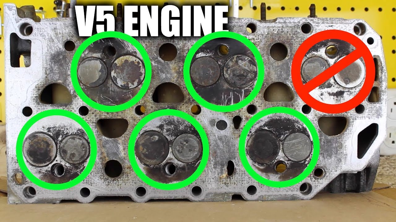 Volkswagen's V5 Engine — When A VR6 Is Too Big - YouTube