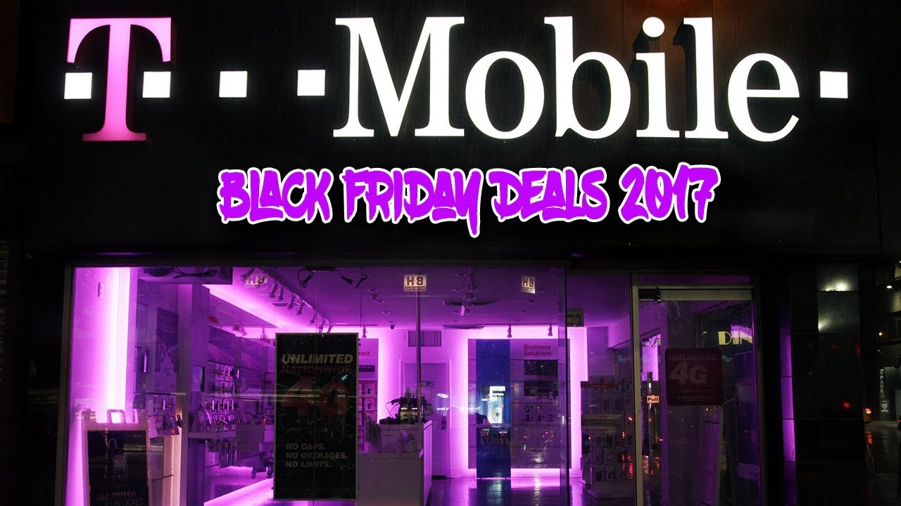 T Mobile Black Friday 2017 Mobile Deals