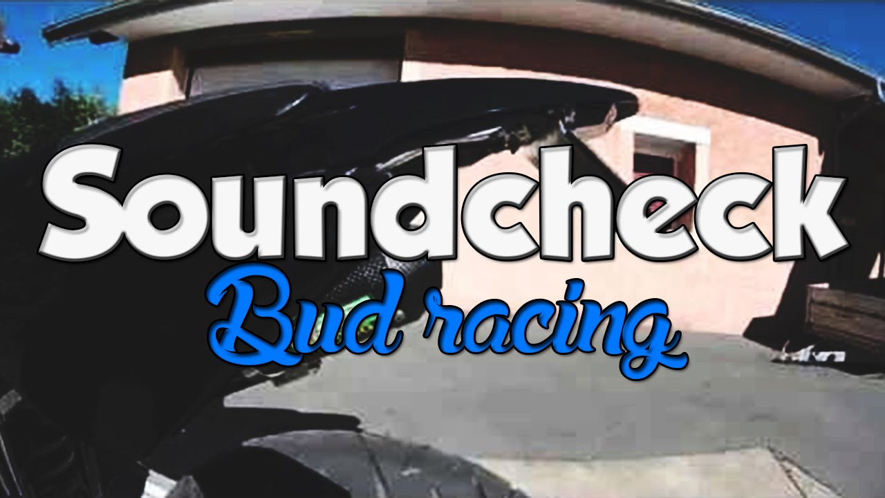 Soundcheck bud racing carbone