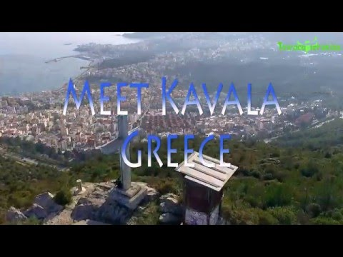 Kavala Greece (Aerial)