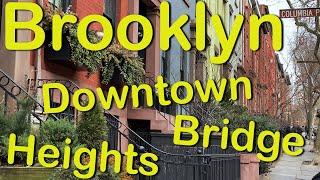 Brooklyn Bridge, Brooklyn Heights, Brooklyn downtown