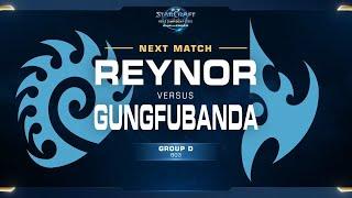 GunGFuBanDa vs Reynor PvZ - Group D - WCS Challenger EU Season 2
