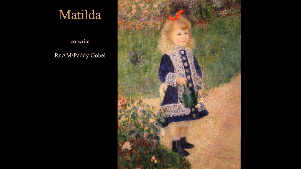 MATILDA - PG Music Forums