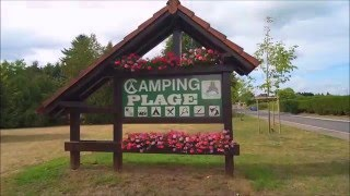 camping Plage Beaufort Luxemburg by Drone