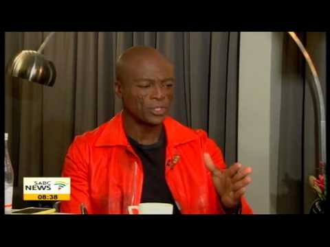 English singer and songwriter Seal on his music career