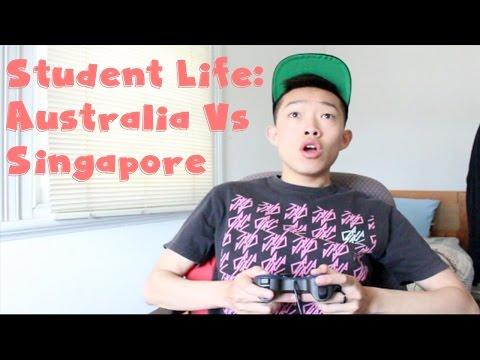 Student Life: Australia Vs Singapore | ObliviousD