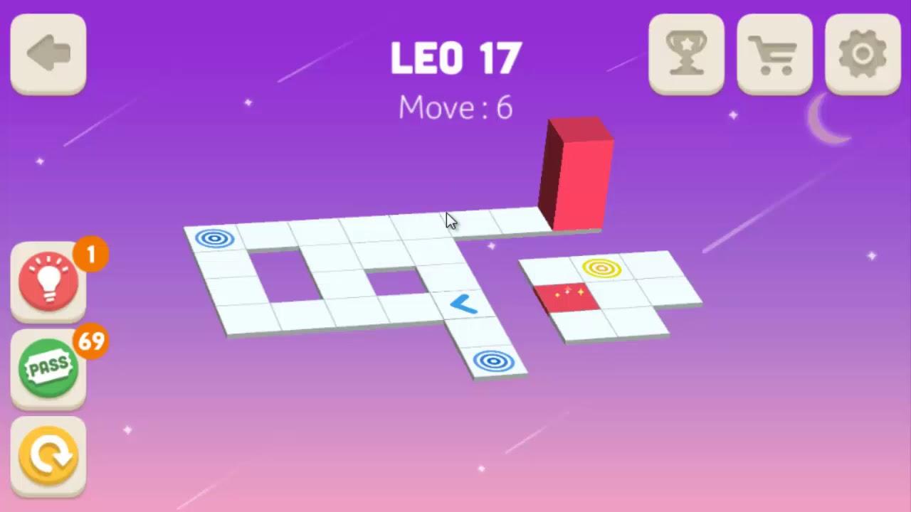 bloxorz level 17 walkthrough