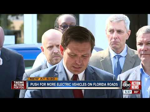 Governor amps up voltage on Florida's electric car infrastructure