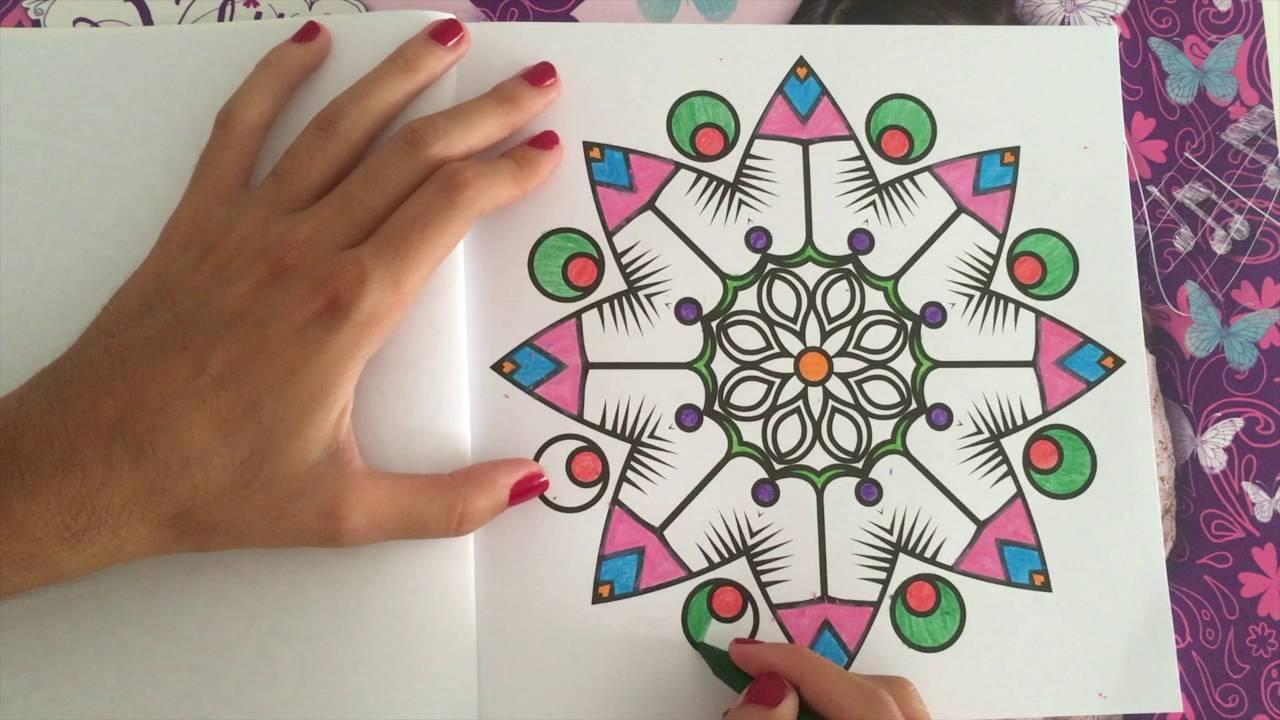 Dibujos De Mandalas Para Colorear Para Ninos: COLOREAR MANDALAS Para Niños Y Niñas!!!