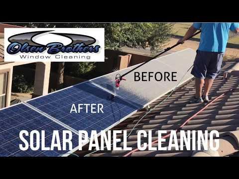 Solar Panel Cleaning In Arizona