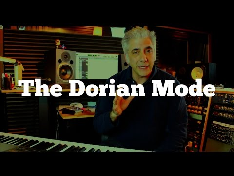 Music Theory - The Dorian Mode