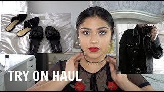 Mini Try on haul   Forever21, Top Shop, Target